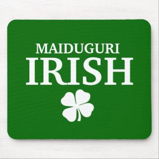 Camiseta irlandesa de encargo orgullosa de la ciud tapete de ratón