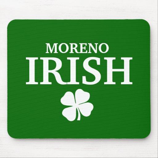 Camiseta irlandesa de encargo orgullosa de la ciud mousepads