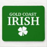 Camiseta irlandesa de encargo orgullosa de la ciud tapete de raton