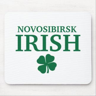 Camiseta irlandesa de encargo orgullosa de la ciud alfombrillas de ratones