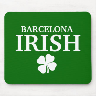 Camiseta irlandesa de encargo orgullosa de la ciud tapetes de ratón
