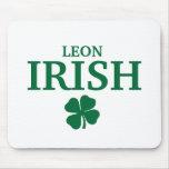 Camiseta irlandesa de encargo orgullosa de la ciud alfombrillas de raton