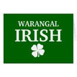 Camiseta irlandesa de encargo orgullosa de la ciud felicitacion