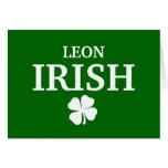 Camiseta irlandesa de encargo orgullosa de la ciud tarjeton