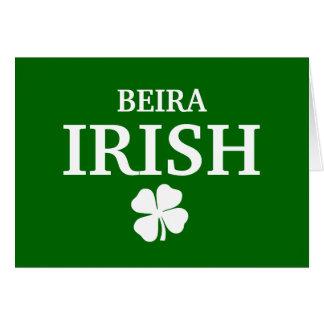 Camiseta irlandesa de encargo orgullosa de la ciud tarjeta de felicitación