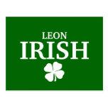 Camiseta irlandesa de encargo orgullosa de la ciud postales
