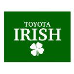 Camiseta irlandesa de encargo orgullosa de la ciud tarjeta postal