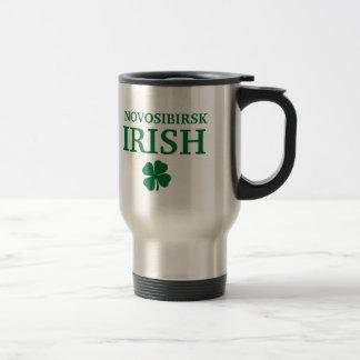 Camiseta irlandesa de encargo orgullosa de la ciud tazas de café