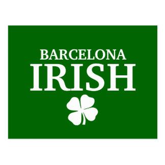 Camiseta irlandesa de encargo orgullosa de la tarjetas postales