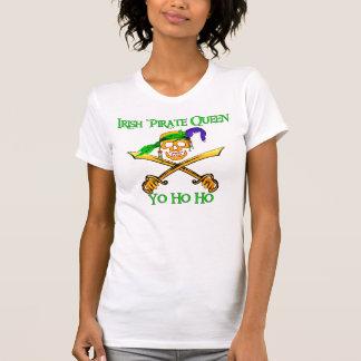 Camiseta irlandesa de la luz de la reina del