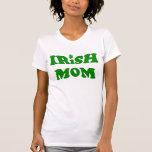 Camiseta irlandesa de la mamá de la diversión con