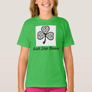 Camiseta irlandesa del bailarín del paso -