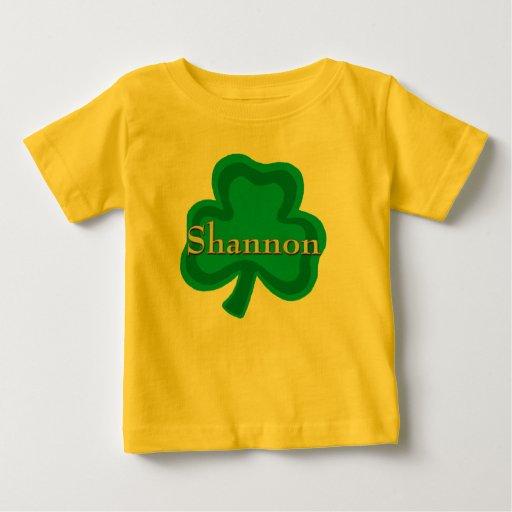 Camiseta irlandesa del bebé de Shannon