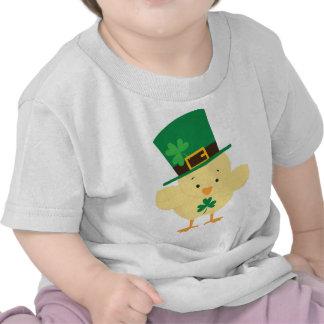 Camiseta irlandesa del bebé del día del St
