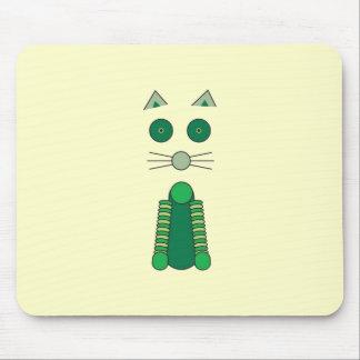 Camiseta irlandesa del CAT Alfombrillas De Ratones