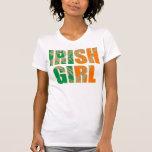 Camiseta irlandesa del chica