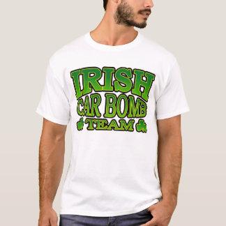 Camiseta irlandesa del equipo del coche bomba