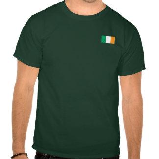 Camiseta irlandesa del gamberro del fútbol