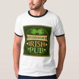 Camiseta irlandesa del Pub del día de St Patrick Camisas
