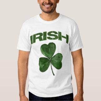 Camiseta irlandesa del trébol del día de St Playeras