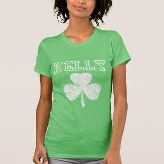 Camiseta irlandesa linda de Kelly del trébol