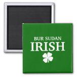 Camiseta irlandesa orgullosa de la ciudad de la of imán para frigorifico