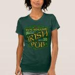 Camiseta irlandesa personalizada vintage de las se