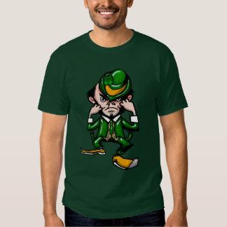 Camiseta irlandesa que lucha playera
