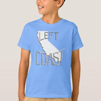 Camiseta izquierda de la costa camisas