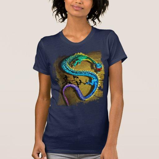 Camiseta Jeweled del dragón, por José Mosa