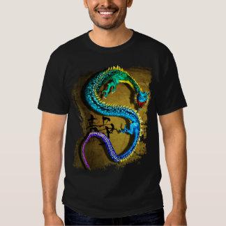 Camiseta Jeweled del dragón, por José Mosa Playera