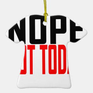 Camiseta JK.png de Nope no hoy Adorno Para Reyes