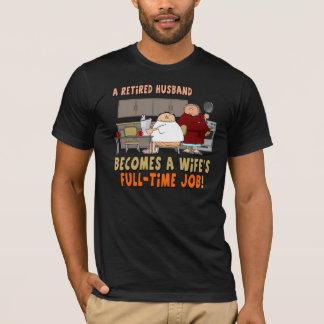 Camiseta jubilada del retiro del marido
