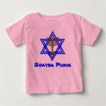 Camiseta judía de los niños de Shayna Punim Playeras