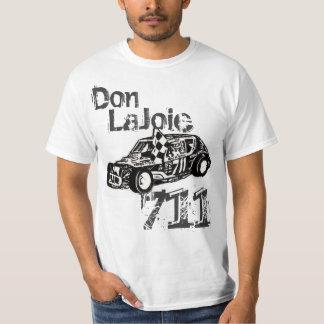 Camiseta justa de Don Lajoie Danbury Racearena B&W