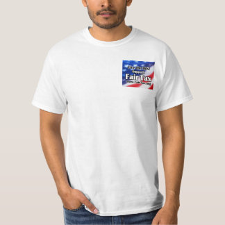 Camiseta justa del impuesto playeras
