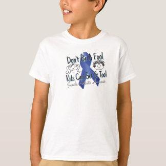 Camiseta juvenil de la conciencia de la artritis playera