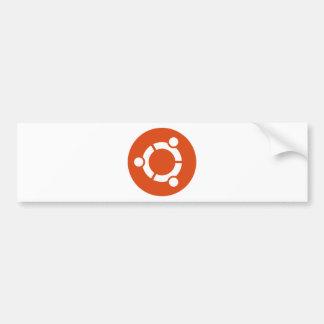 Camiseta Kode ub05 de Ubuntu Linux Pegatina Para Coche