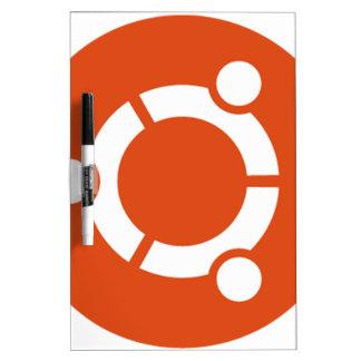 Camiseta Kode ub05 de Ubuntu Linux Pizarras