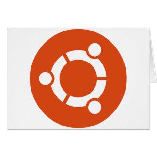 Camiseta Kode ub05 de Ubuntu Linux Tarjeta De Felicitación