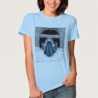 Camiseta L de las mujeres de Skadi de Nellis Playera
