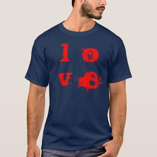 camiseta L, O, V, E