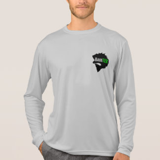 Camiseta larga activa de la manga de BassTEK Playera