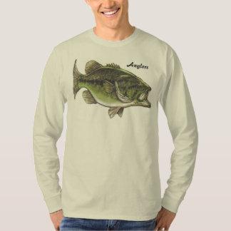 Camiseta larga básica de la manga de los hombres remera