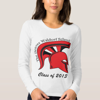 Camiseta larga cabida para mujer de la manga camisas