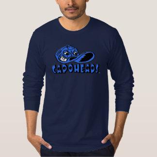 Camiseta larga de CapoHeads de la manga de la