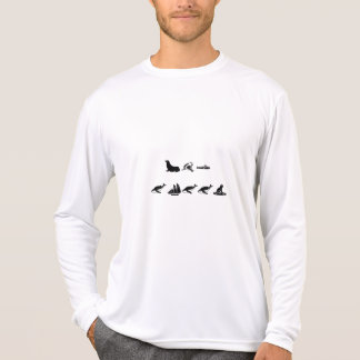 camiseta larga de la manga 2XL