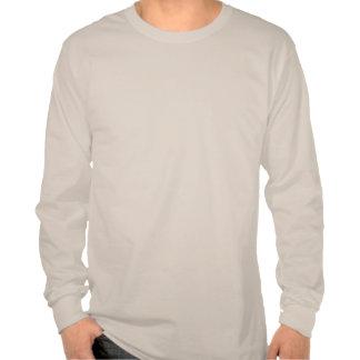Camiseta larga de la manga de Cthulhu - negro