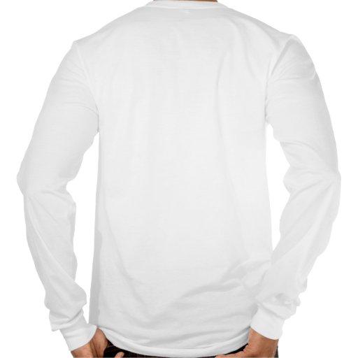 Camiseta larga de la manga de Dragster del combust