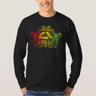 """Camiseta larga de la manga de """"Herald Rasta"""" del Poleras"""